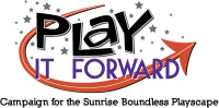 Sunrise- Play It Forward Logo
